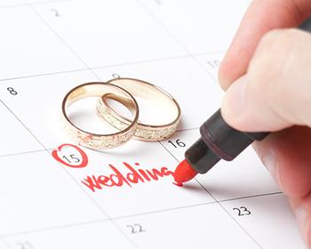 Melhor mês para casar