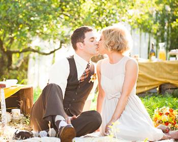 Casamento com piquenique: alegre e descontraído
